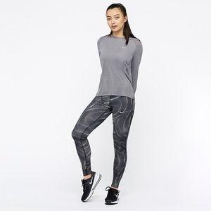 Nike   Power Essential Printed Athletic Leggings